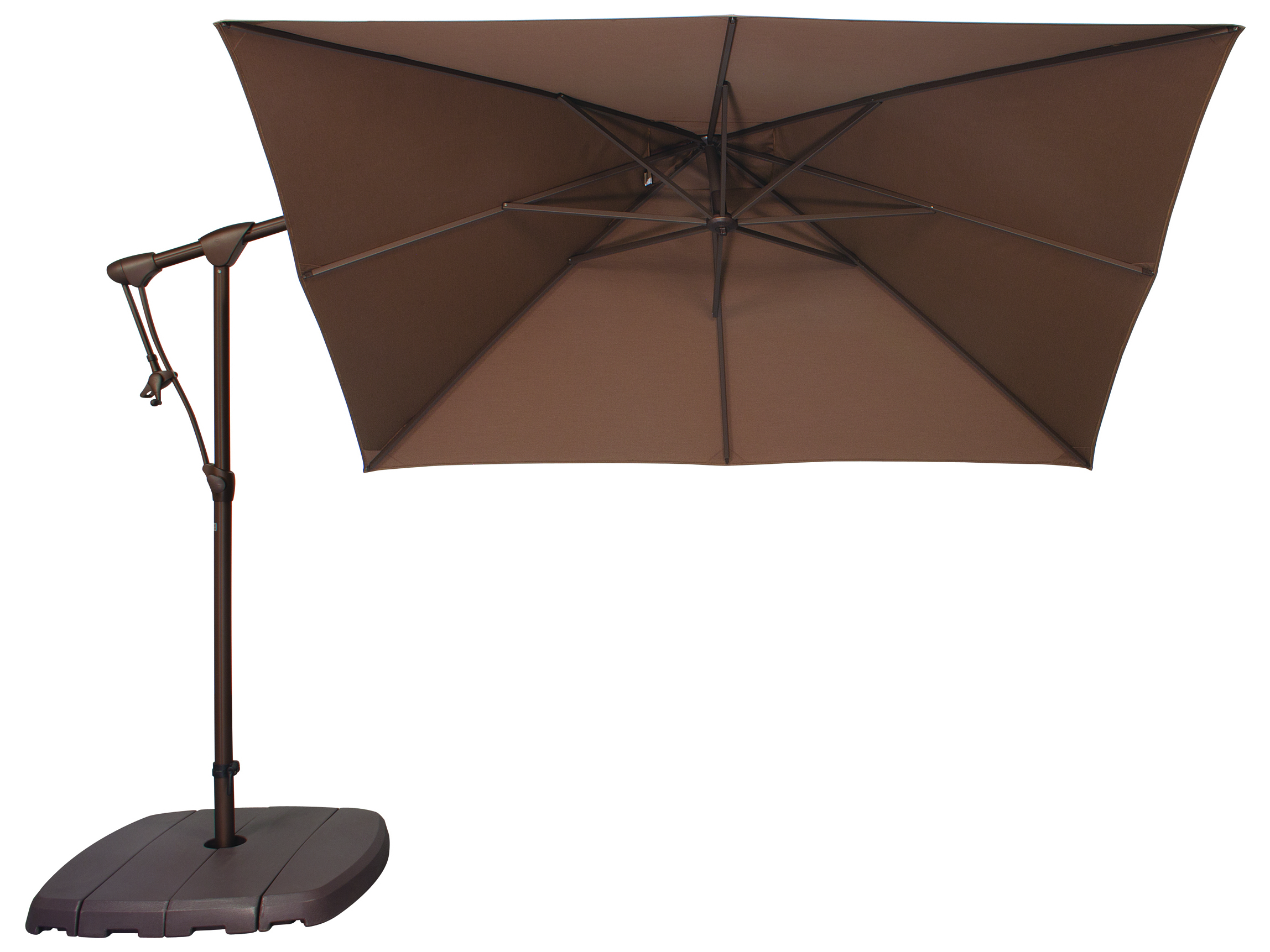 Treasure Garden Offset Umbrella | Patio Furniture with Umbrella | Garden Treasures Offset Umbrella