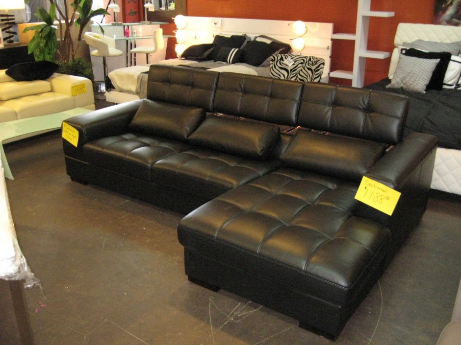 Tufted Sectional | Cheap Sectional Couches | Sectional With Recliner