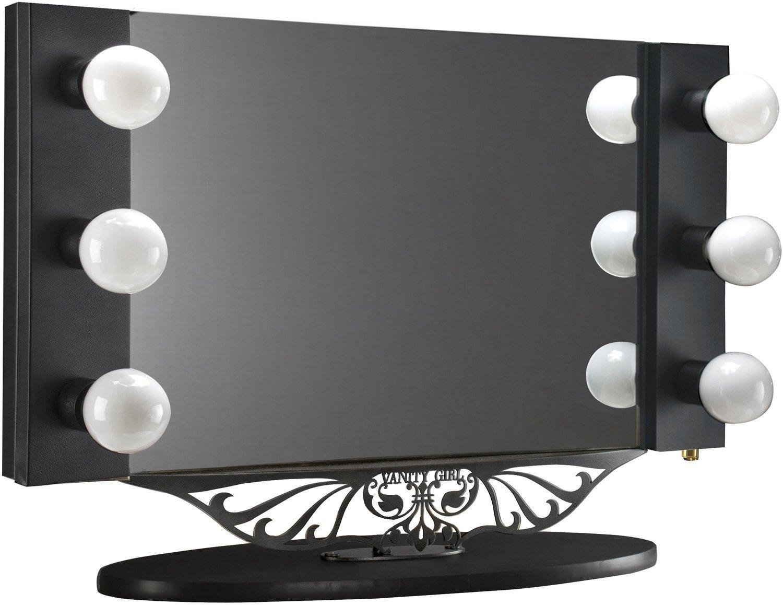 Vanity Desk Ikea | Makeup Vanity Table with Lighted Mirror | Mirrored Vanity Desk