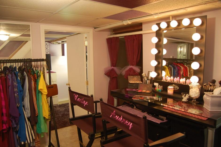 Vanity Dresser With Mirror | Makeup Vanity Table With Lighted Mirror | Walmart Makeup Table