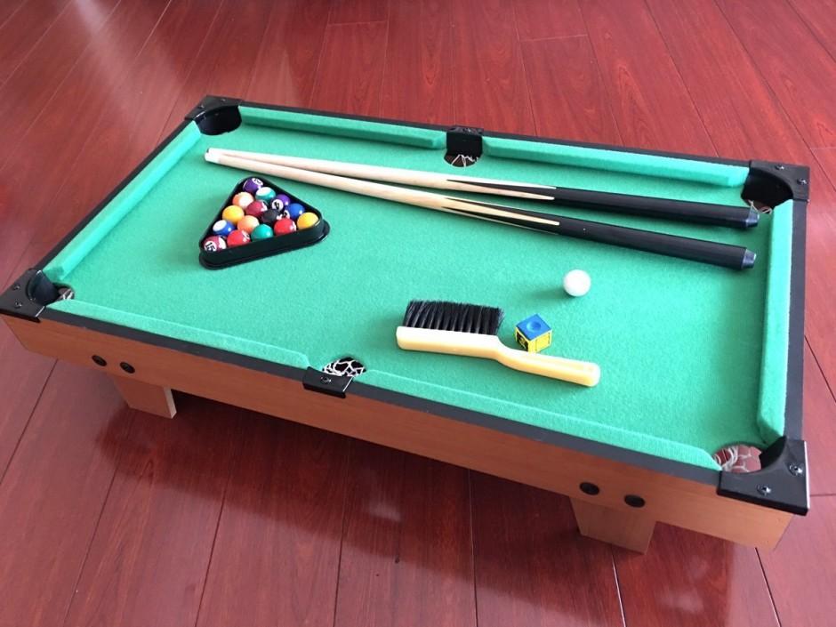 Walmart Billiard Table | Mizerak Pool Table | 6 Foot Slate Pool Table
