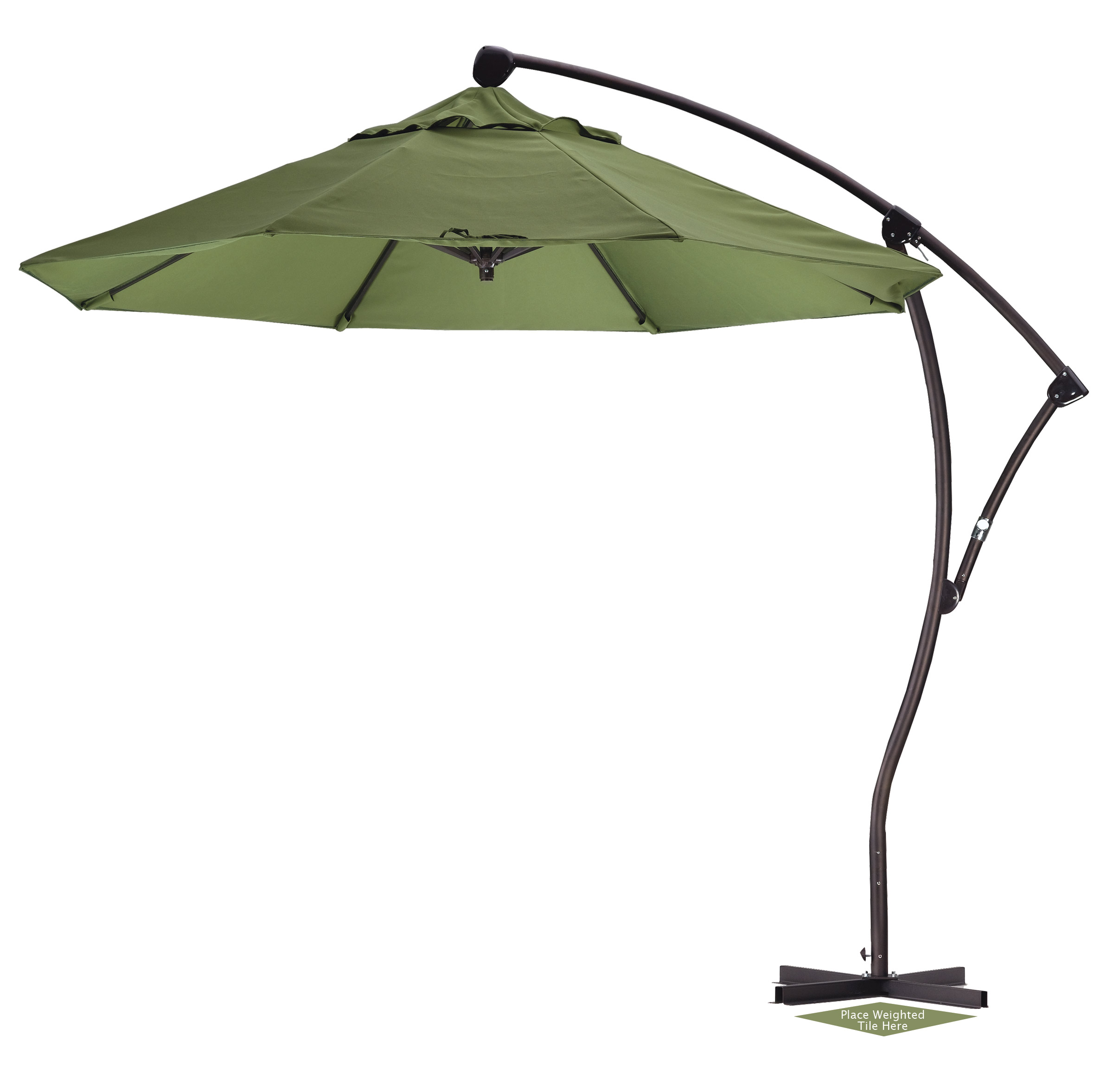 Walmart Patio Umbrella | Umbrellas at Lowes | Garden Treasures Offset Umbrella
