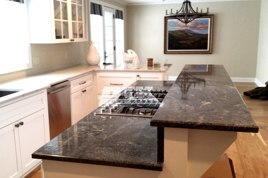 Affordable Lovely Macaubas Quartzite For Marble Countertop With Sea Pearl  Quartzite Countertops.