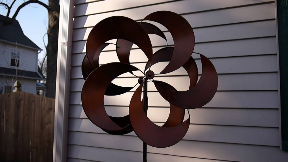Wind Spinners Copper | Wind Spinners | Plow And Hearth Wind Spinner