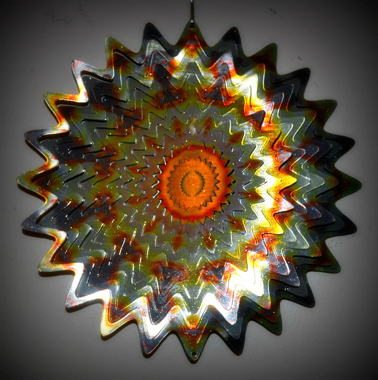 Wind Spinners | Large Metal Garden Wind Spinners | Fish Wind Spinner