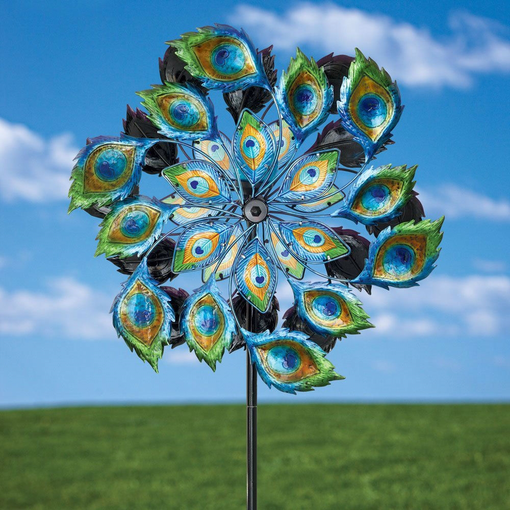 Interior & Decor: Wonderful Wind Spinners For Outdoor Or Indoor ...