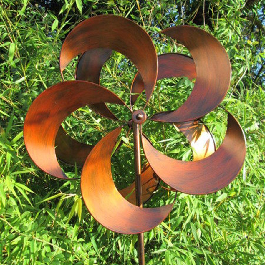 Wind Spinners | Wood Wind Spinners | Copper Whirligig