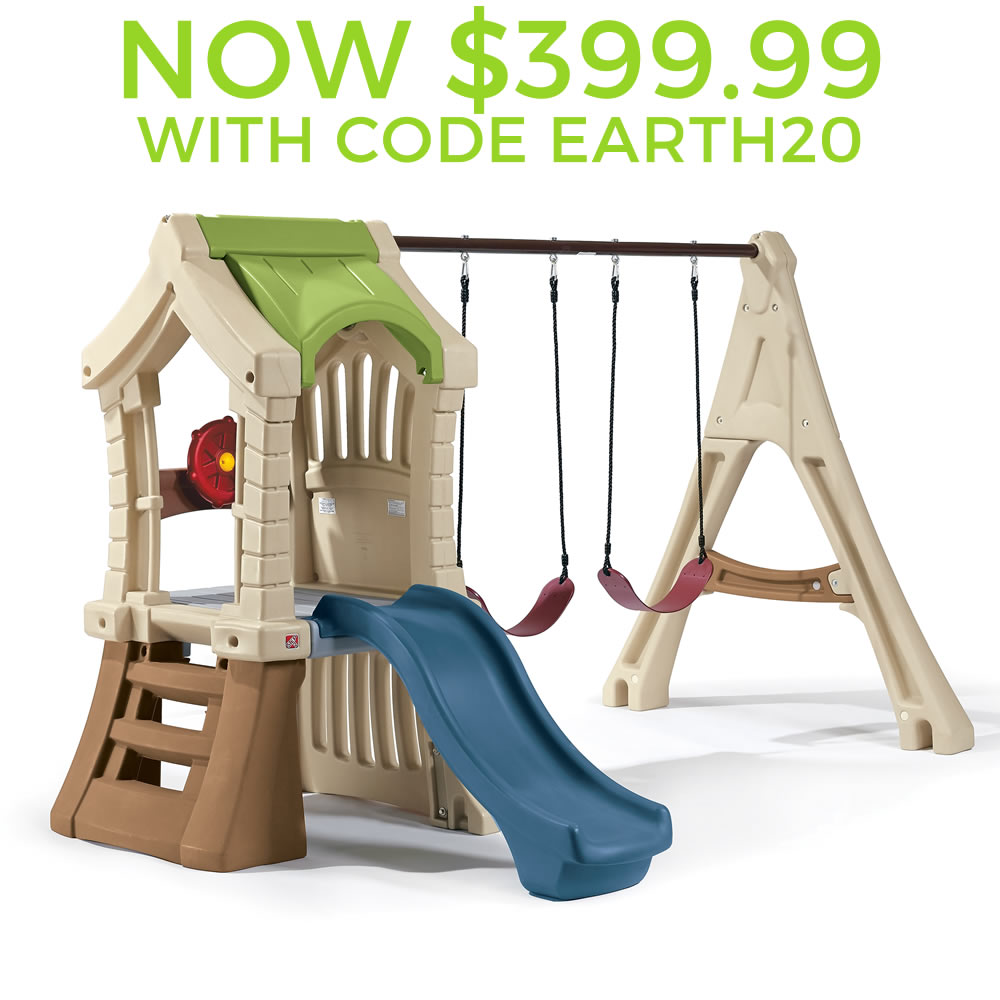 Woodland Playset | Step 2 Big Climber | Step2 Naturally Playful Woodland Climber