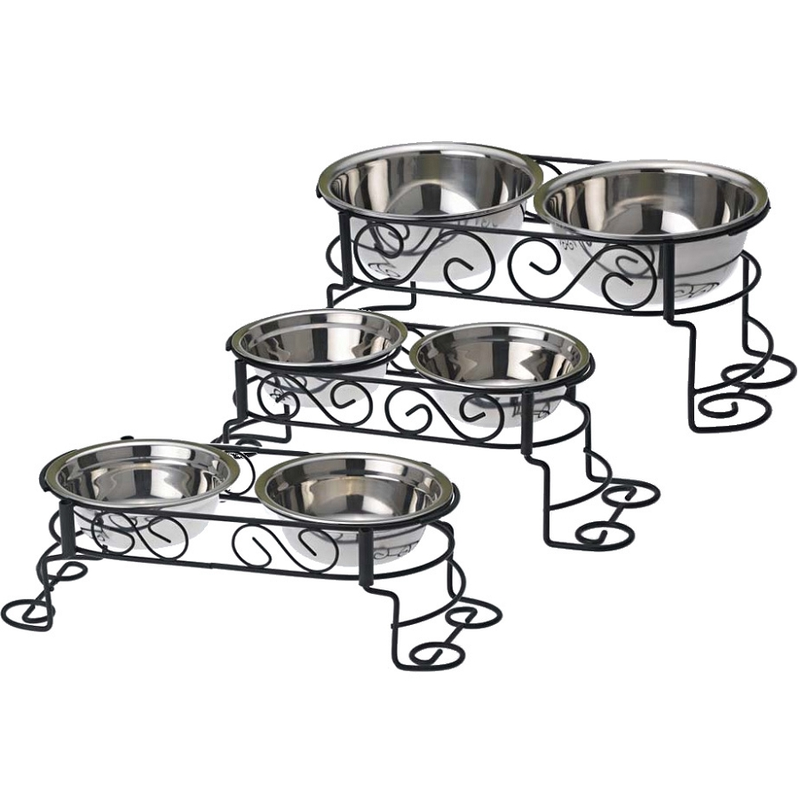 Adjustable Dog Feeder | Elevated Dog Bowls | Food Dispenser for Dogs