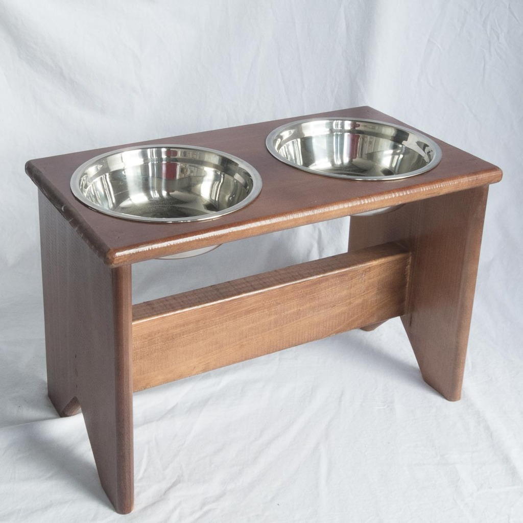 bowl mm freestanding fabian stand is tall dog and elevated bowls food pet the wooden feeder woodworks single water wenge promotes raised