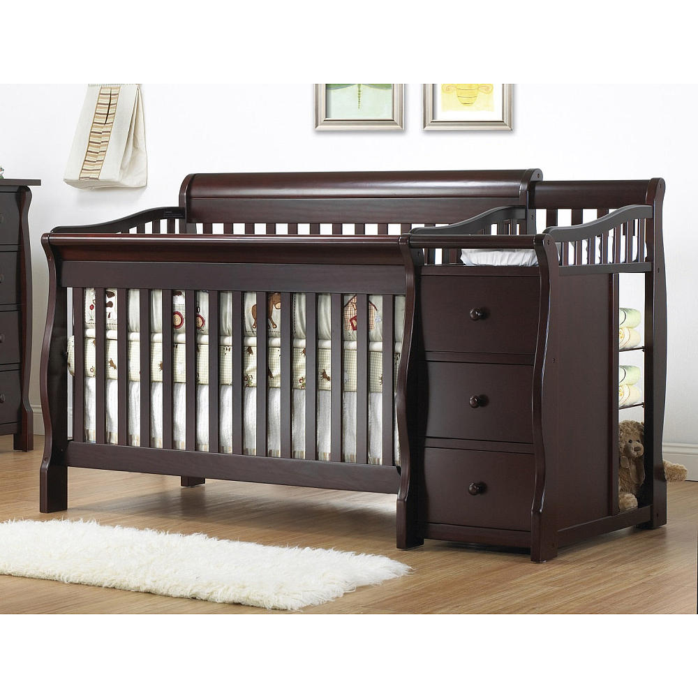 Babies R Us Grey Crib | Baby Cache Heritage Lifetime Convertible Crib | Heritage Collection Crib