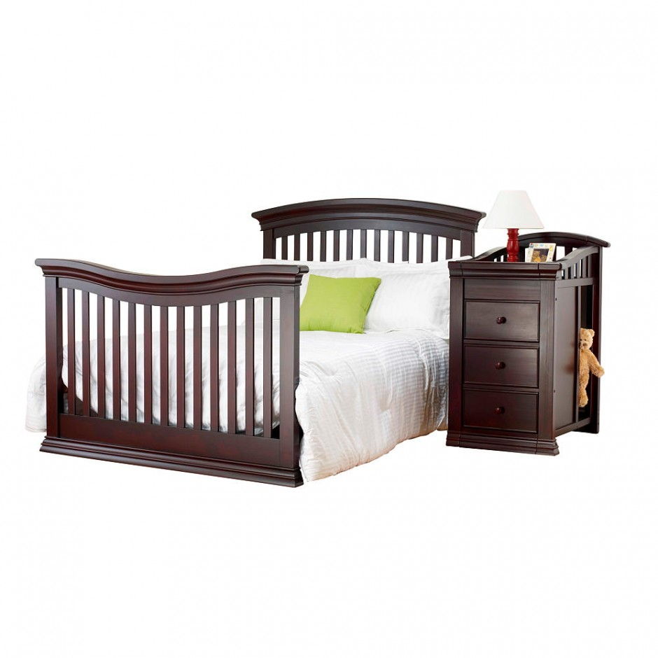 Baby Cache Heritage Cherry | Baby Cache Heritage Lifetime Convertible Crib | Cache Convertible Crib