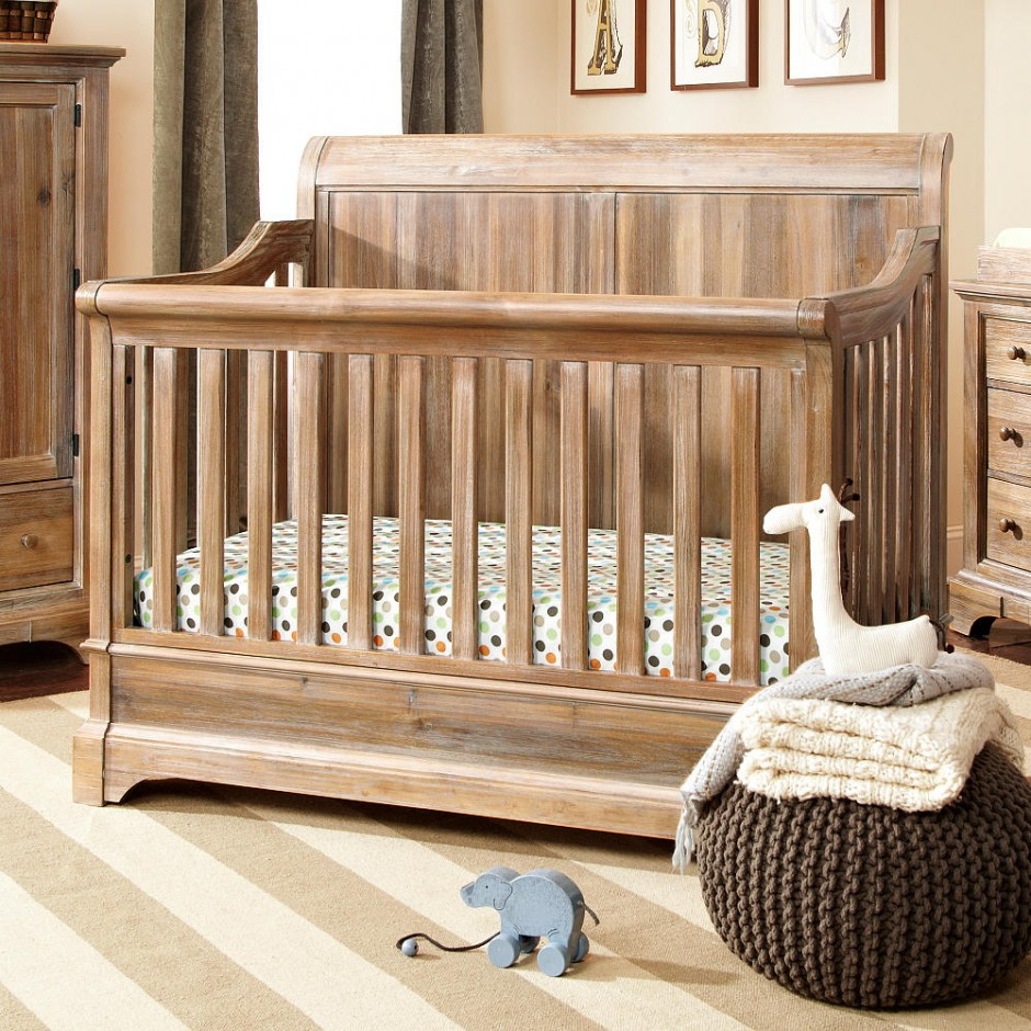 Baby Cache Heritage Dresser Cherry | Baby Cache Bed Rails | Baby Cache Heritage Lifetime Convertible Crib