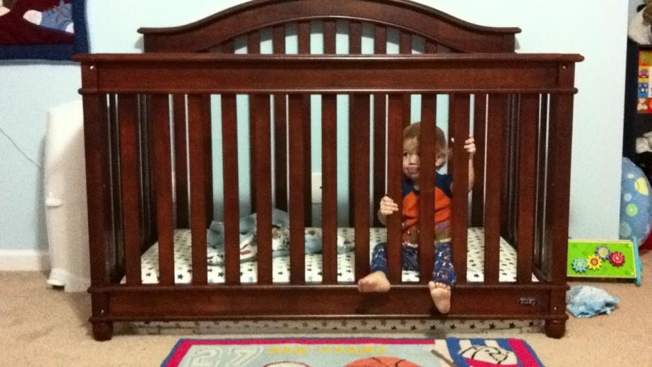 Baby Cache Heritage Lifetime Convertible Crib | Babies R Us Grey Crib | Baby Crib Convertible