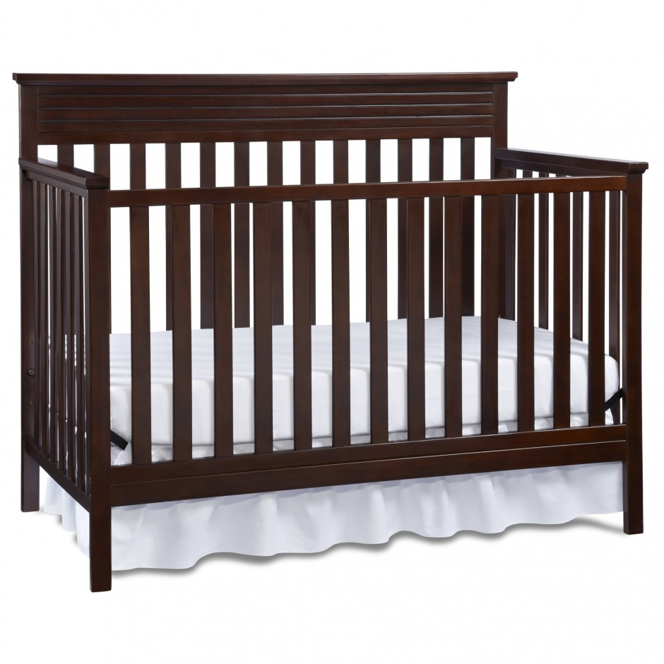 Baby Cache Heritage Lifetime Convertible Crib | Baby Cache Montana | Babies R Us Grey Crib