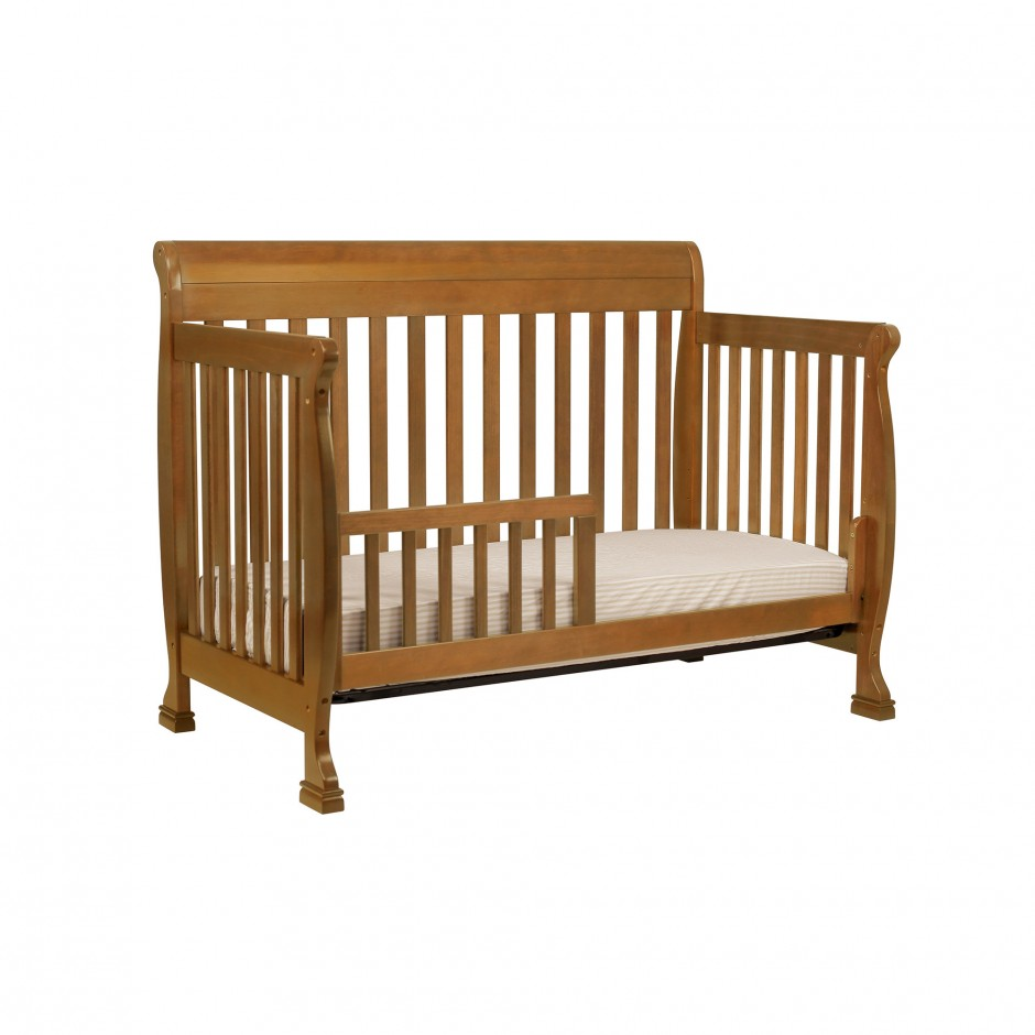 Baby Cache Heritage Lifetime Convertible Crib Cherry | Baby Cache Guardrail For Toddler Bed | Baby Cache Heritage Lifetime Convertible Crib