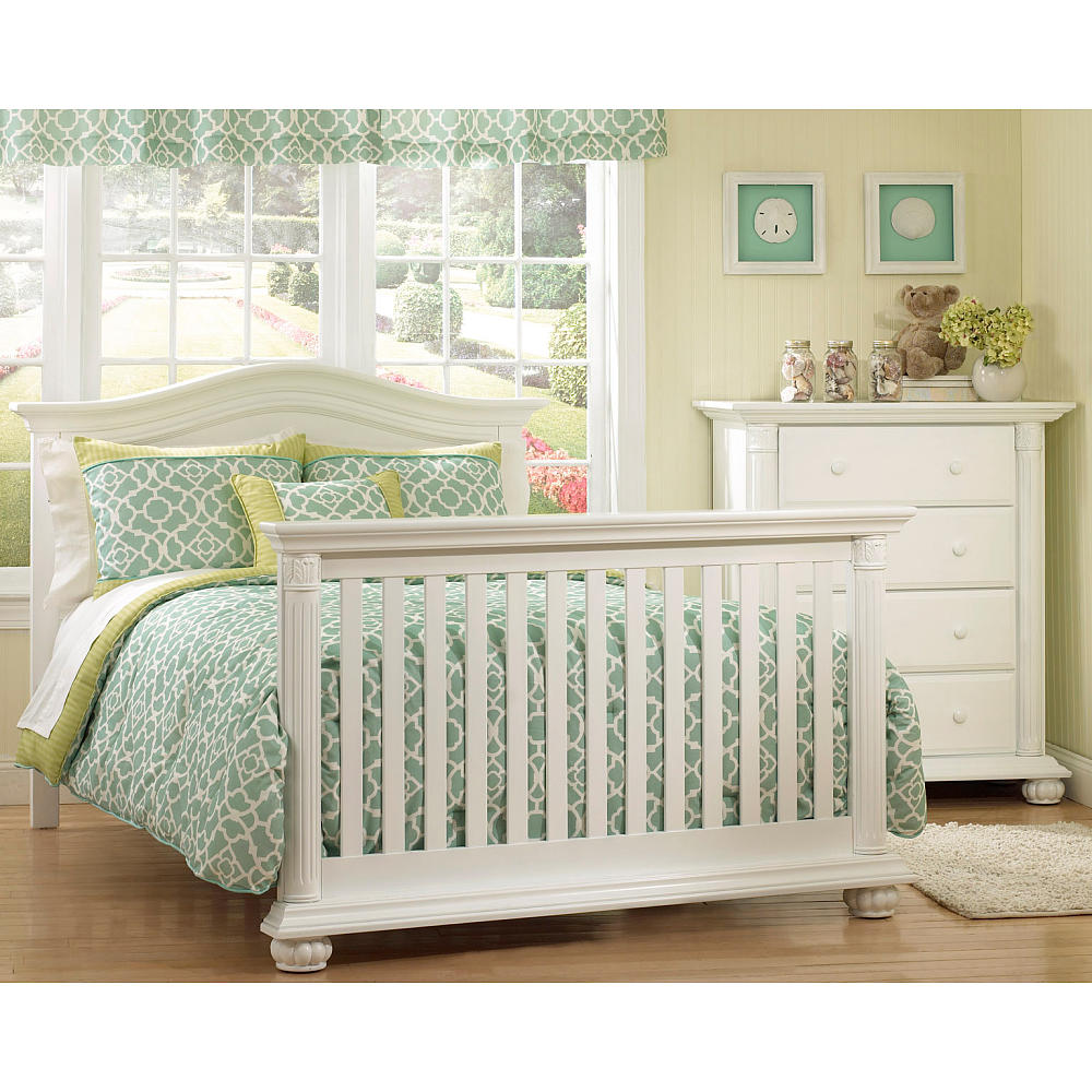 Baby Cache White Crib | Baby Cache Heritage Lifetime Convertible Crib | Baby Beds at Babies R Us