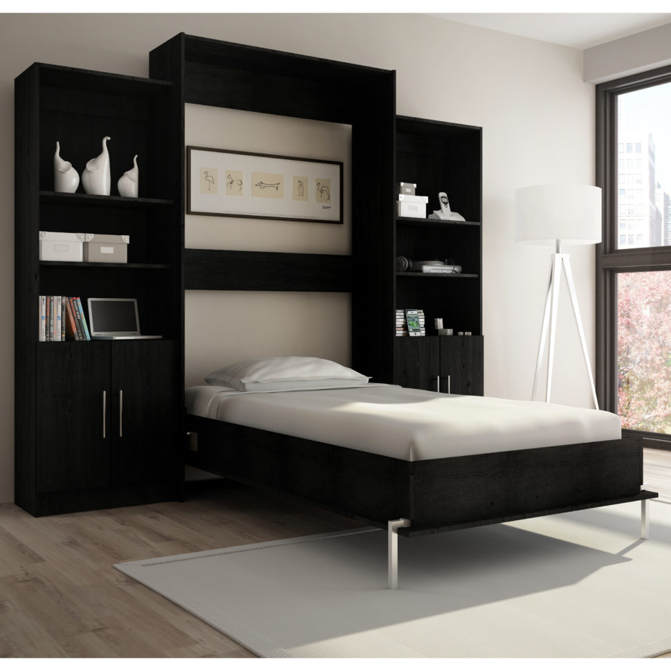 Attractive Bestar Wall Bed for Modern Bedroom Furniture Idea: Beds That Fold Into The Wall | Bestar Wall Bed | Wall Bed Units