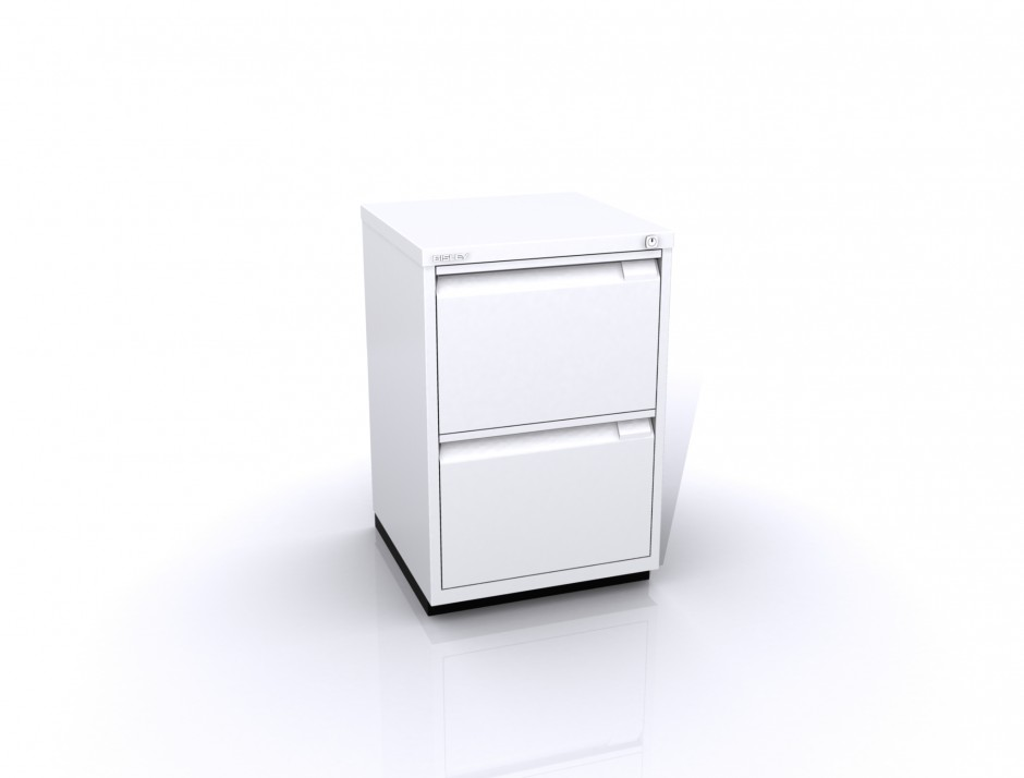 Bisley File Cabinet | 2 Drawer Locking File Cabinet | 2 Drawer Filing Cabinet With Lock