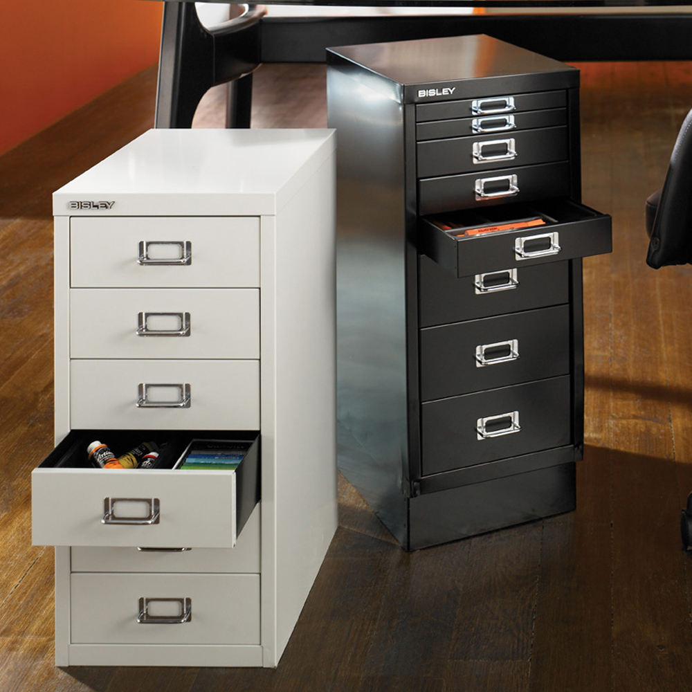 Bisley Filing Cabinet 2 Drawer | 2 Drawer Locking File Cabinet | Bisley File Cabinet