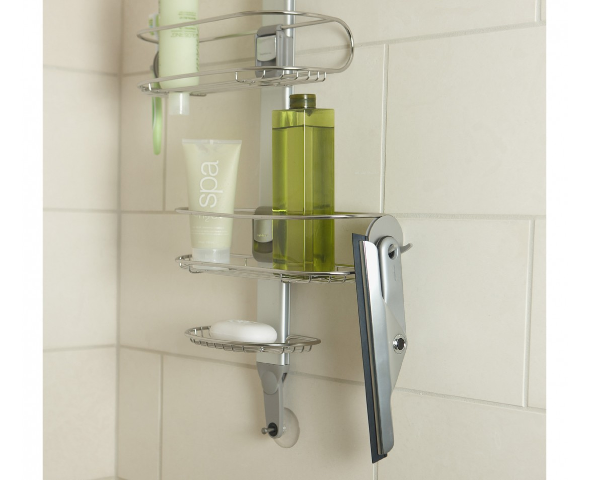 Have A Best Shower Caddy with Simplehuman Shower Caddy: Bt1062 | No Screw Shower Caddy | Simplehuman Shower Caddy