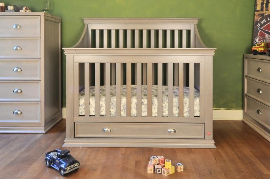 Cache Baby Crib | Baby Cache Heritage Lifetime Convertible Crib | Baby Cache Heritage Toddler Rail