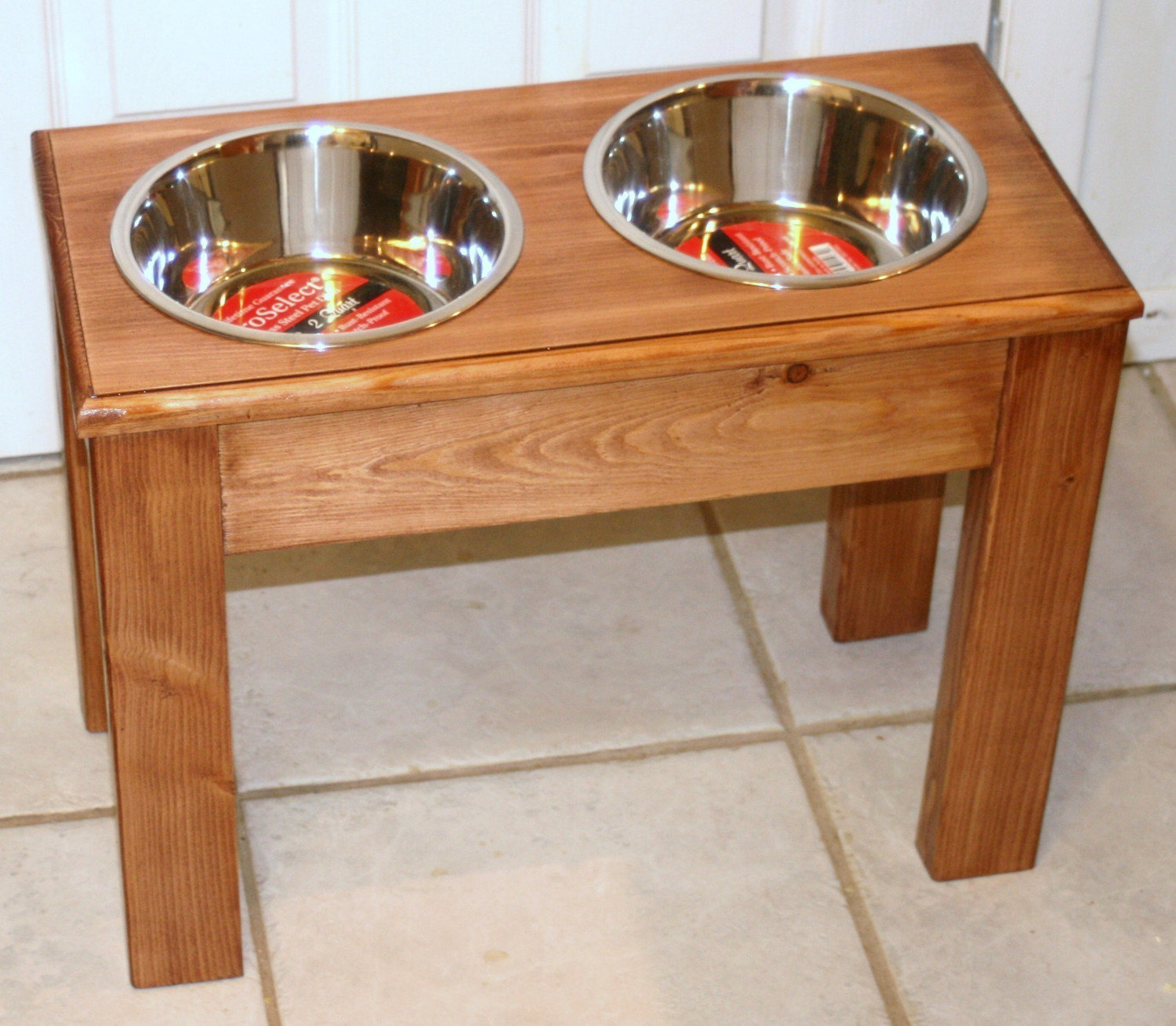 Elevated Dog Bowls | Elevated Dog Feeder With Storage | Camo Dog Bowls