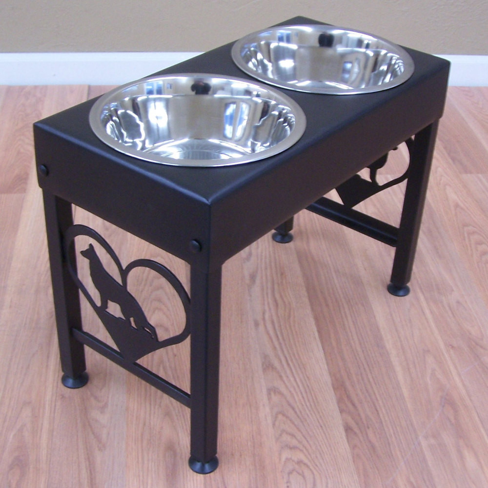 Large Dog Feeders And Waterers | Elevated Dog Bowls | Dog Dish Holder