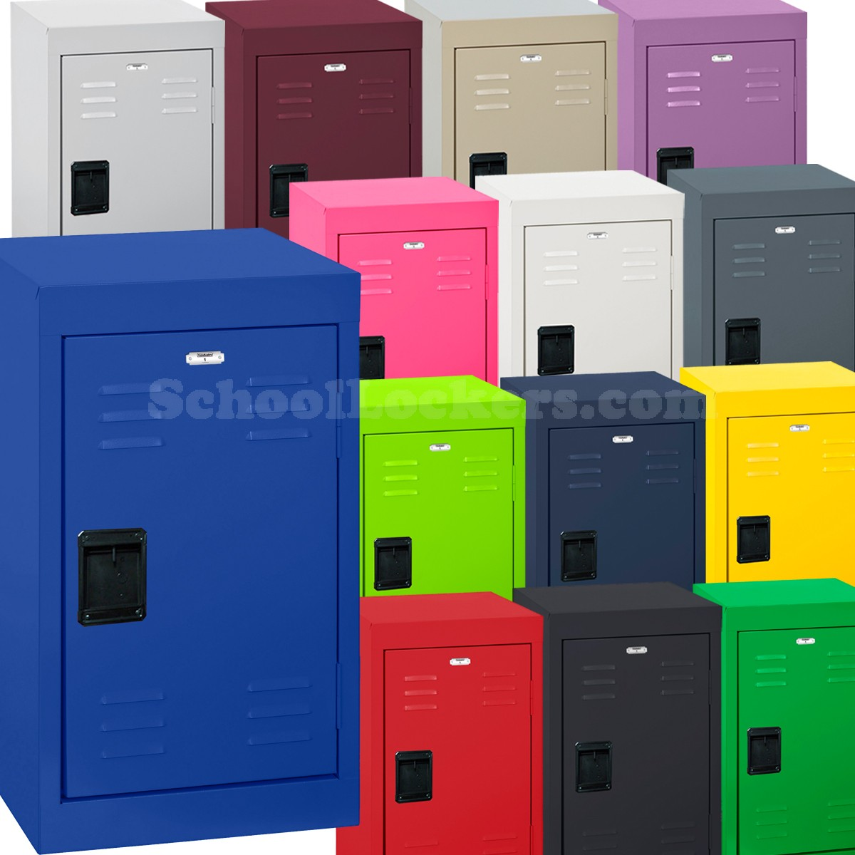 Penco Lockers | Two Tier Lockers | Penco Lockers