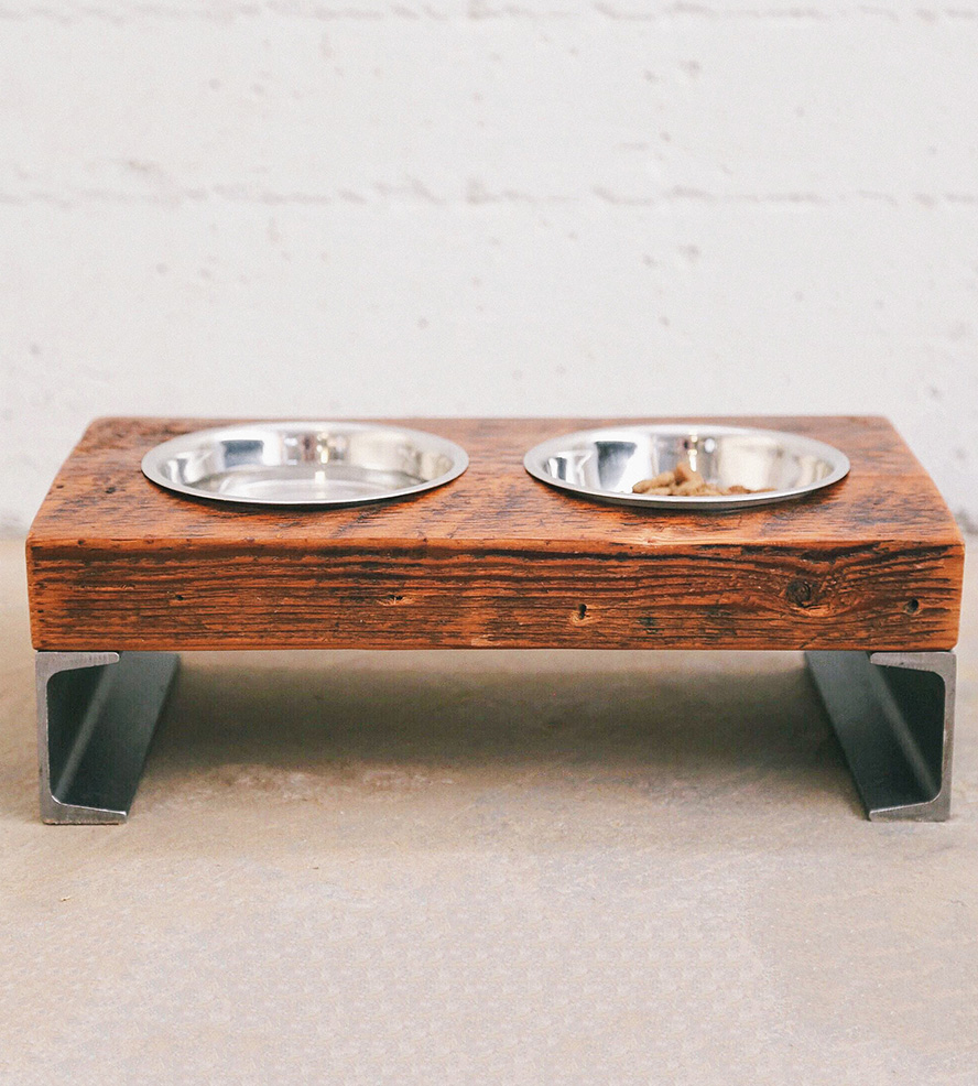 Pet Bowl Stand | Dog Feeder With Storage | Elevated Dog Bowls