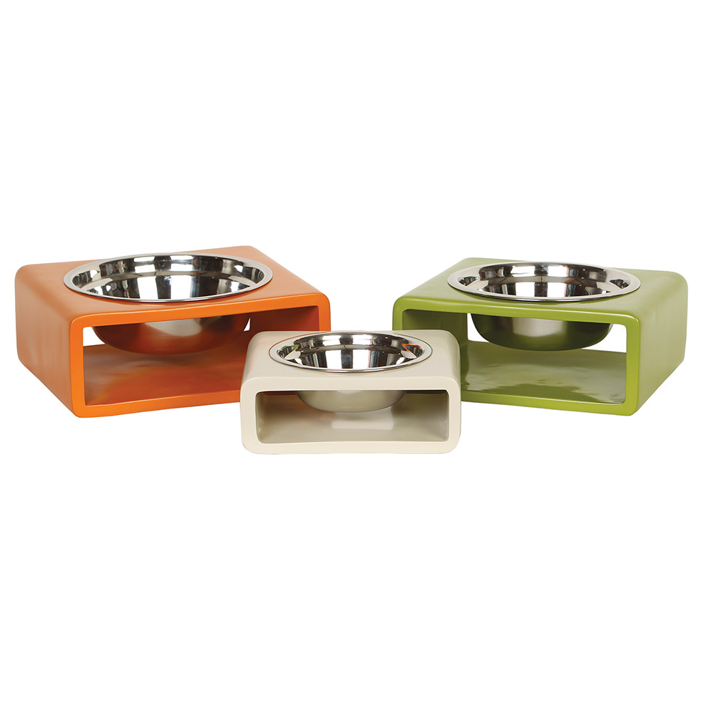 Puppy Bowls | Raised Dog Bowl Stand | Elevated Dog Bowls