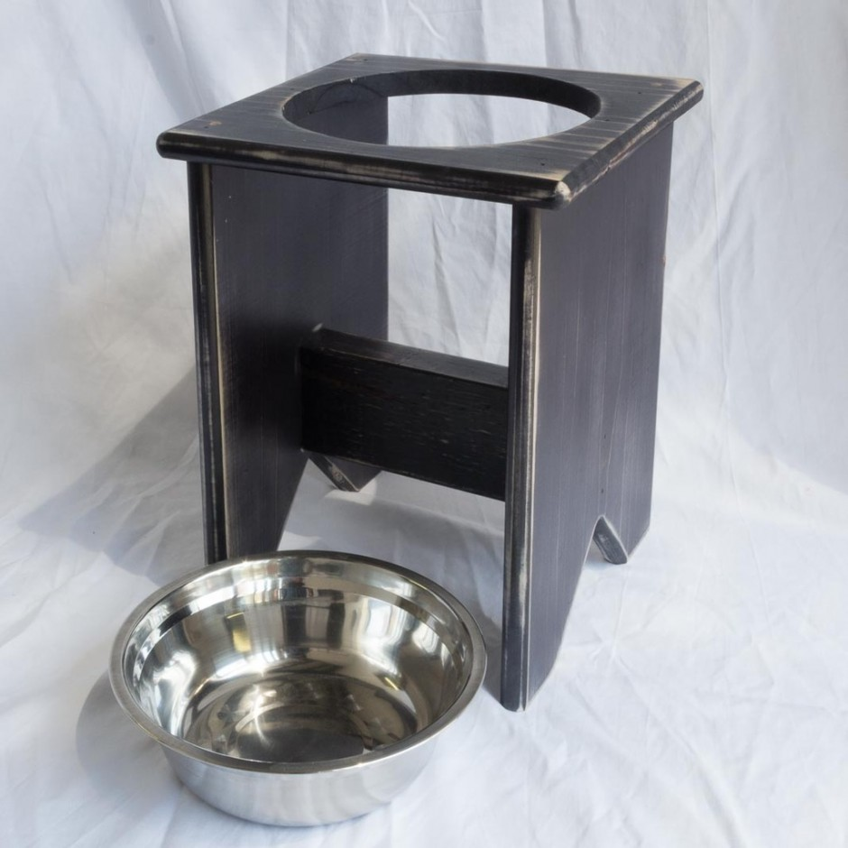 Raised Dog Dish | Large Elevated Dog Bowls | Elevated Dog Bowls