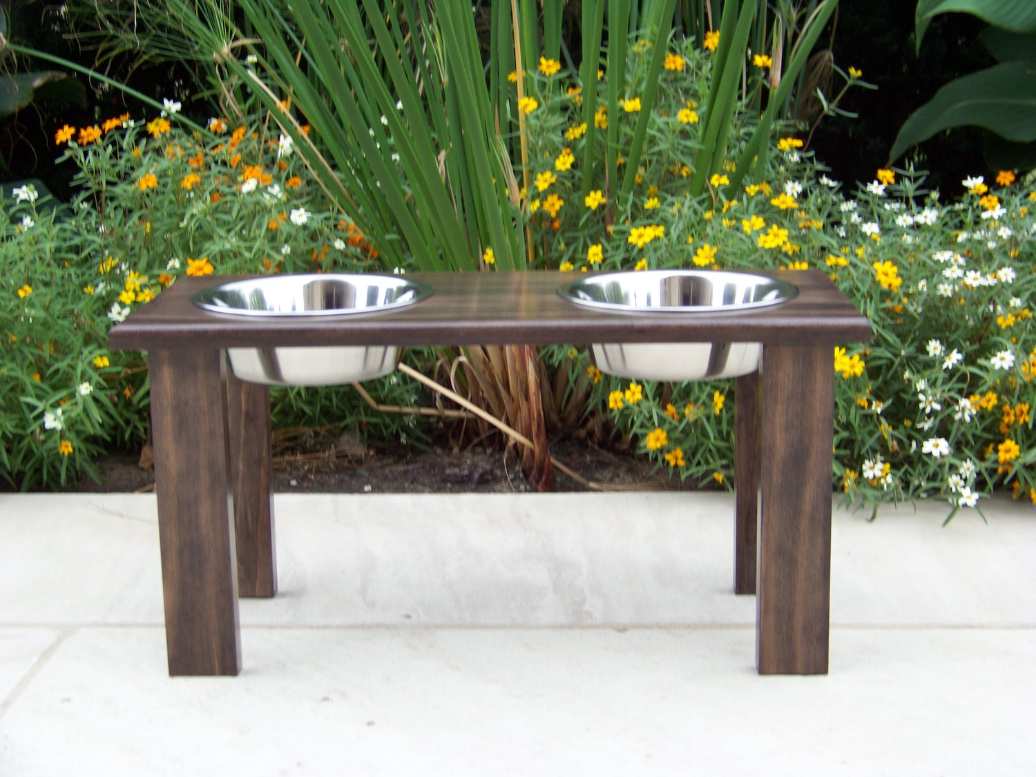 Raised Dog Food Bowls | Elevated Dog Bowls | Dog Food Bowl Holder