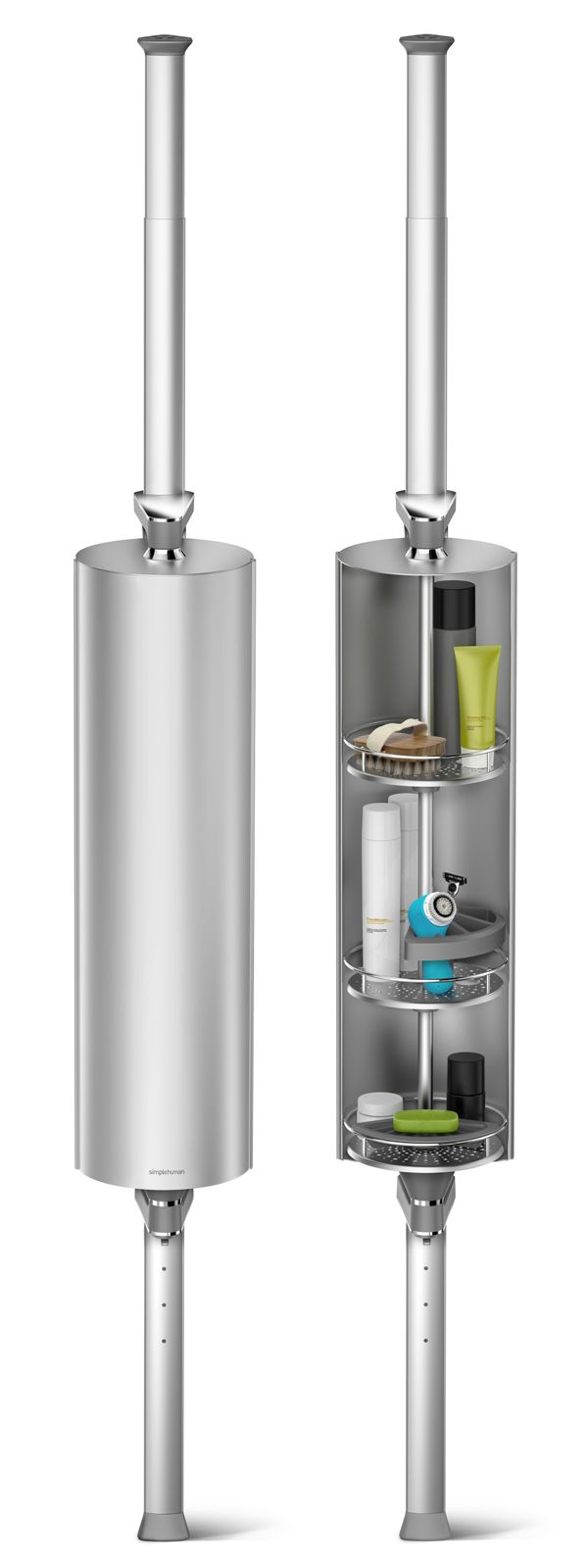 Shower Caddy Solutions | Simplehuman Shower Caddy | Shampoo Holder In Shower