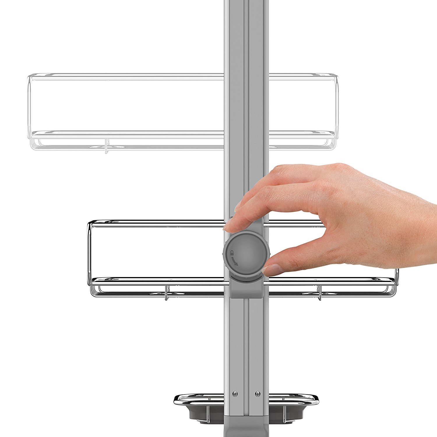 Have A Best Shower Caddy with Simplehuman Shower Caddy: Shower Tension Rod Caddy | Simplehuman Shower Caddy | Simplehuman Shower Caddy Replacement Parts