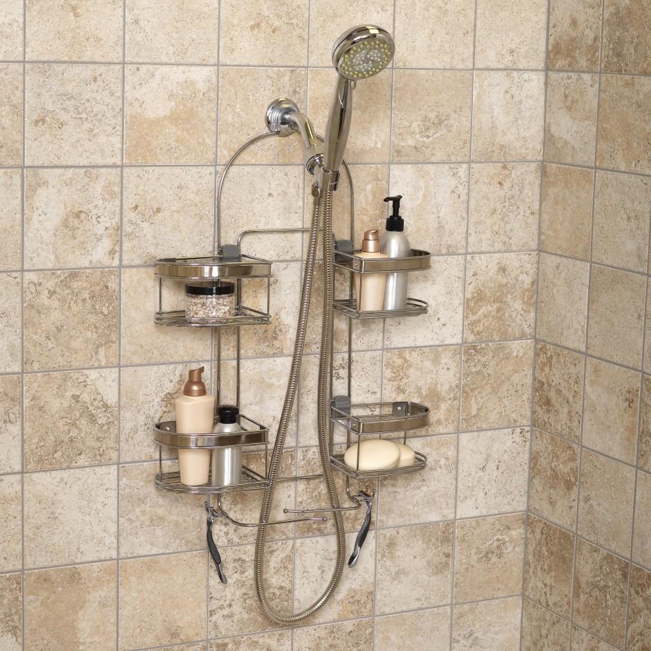 Simplehuman Shower Caddy | Rust Proof Shower Caddy | Simplehuman Shower Caddy