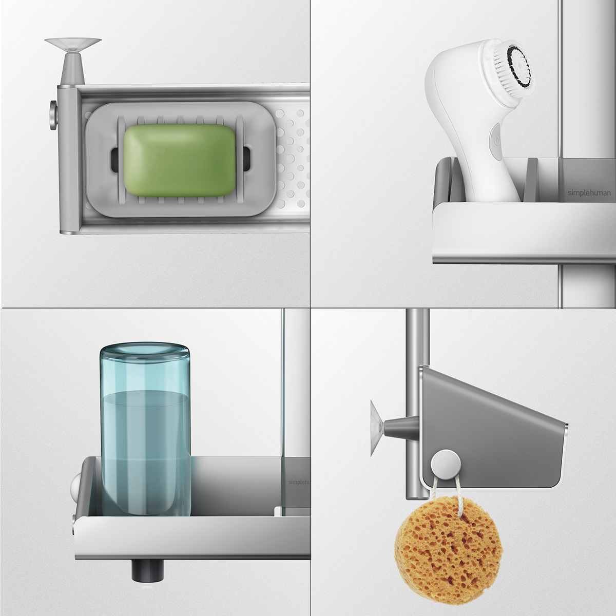Simplehuman Shower Caddy | Shower Caddie | Shower Organizers