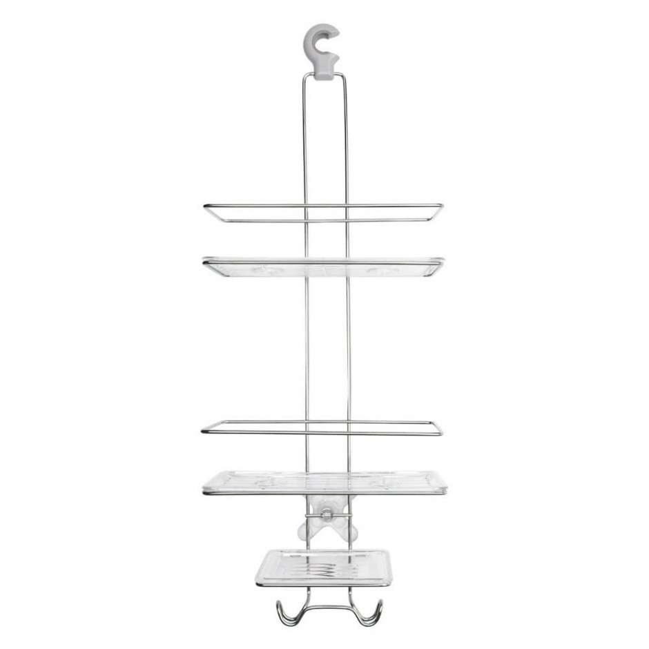 Simplehuman Shower Caddy | Stainless Shower Caddy | Tension Shower Caddy