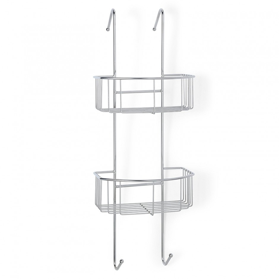 Simplehuman Shower Caddy | Tension Rod Shower Caddy | Corner Tension Rod