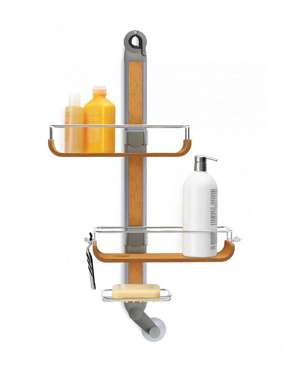 Simplehuman Tension Pole Shower Caddy | Simplehuman Shower Caddy | Simplehuman Shower Caddy