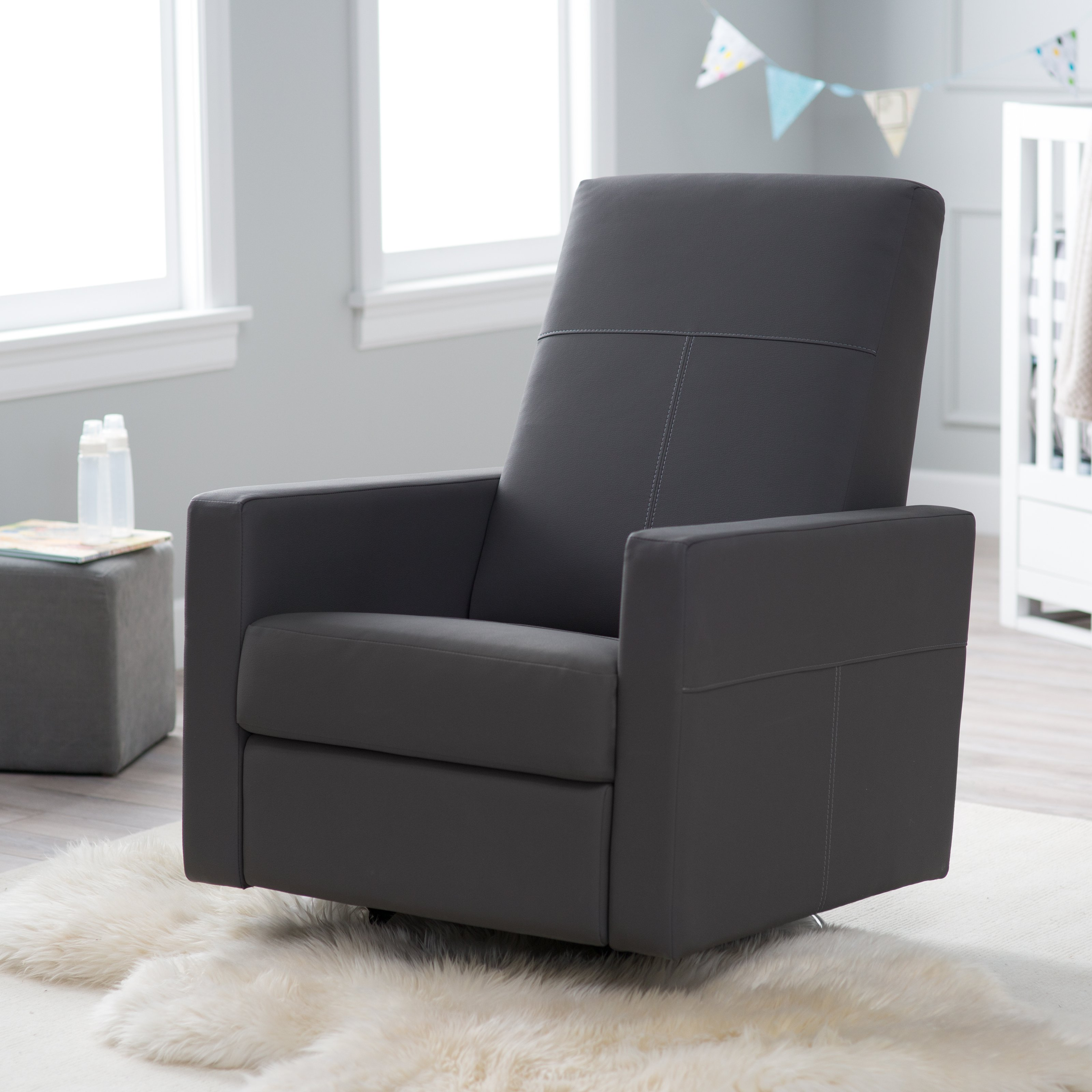 Sleigh Glider and Ottoman Set | Dutailier Ultramotion | Dutailier Glider Chair