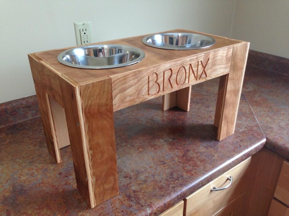 Stainless Steel Slow Feeder Dog Bowl | Single Bowl Raised Dog Feeder | Elevated Dog Bowls