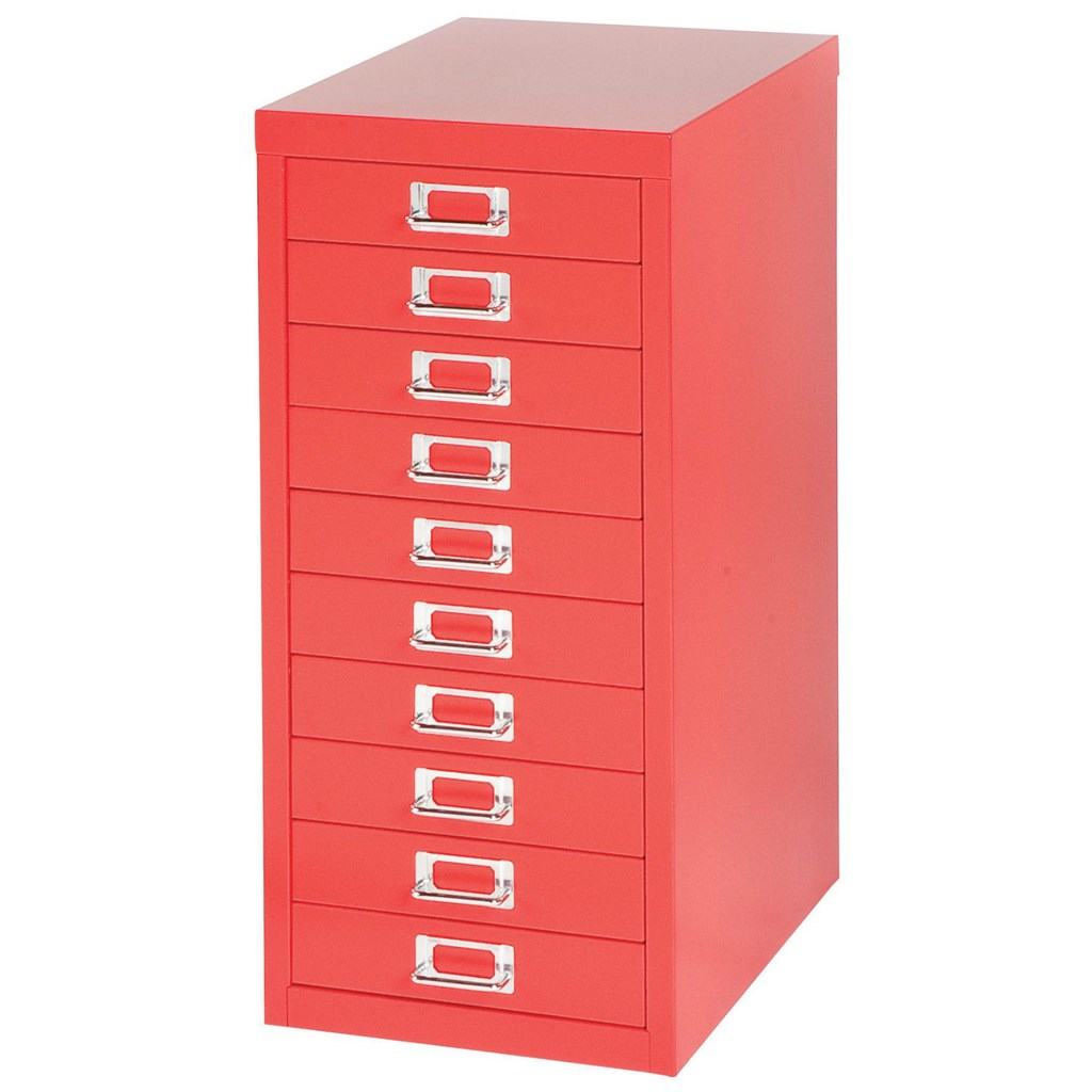 Steel Filing Cabinets | Modern File Cabinet with Lock | Bisley File Cabinet