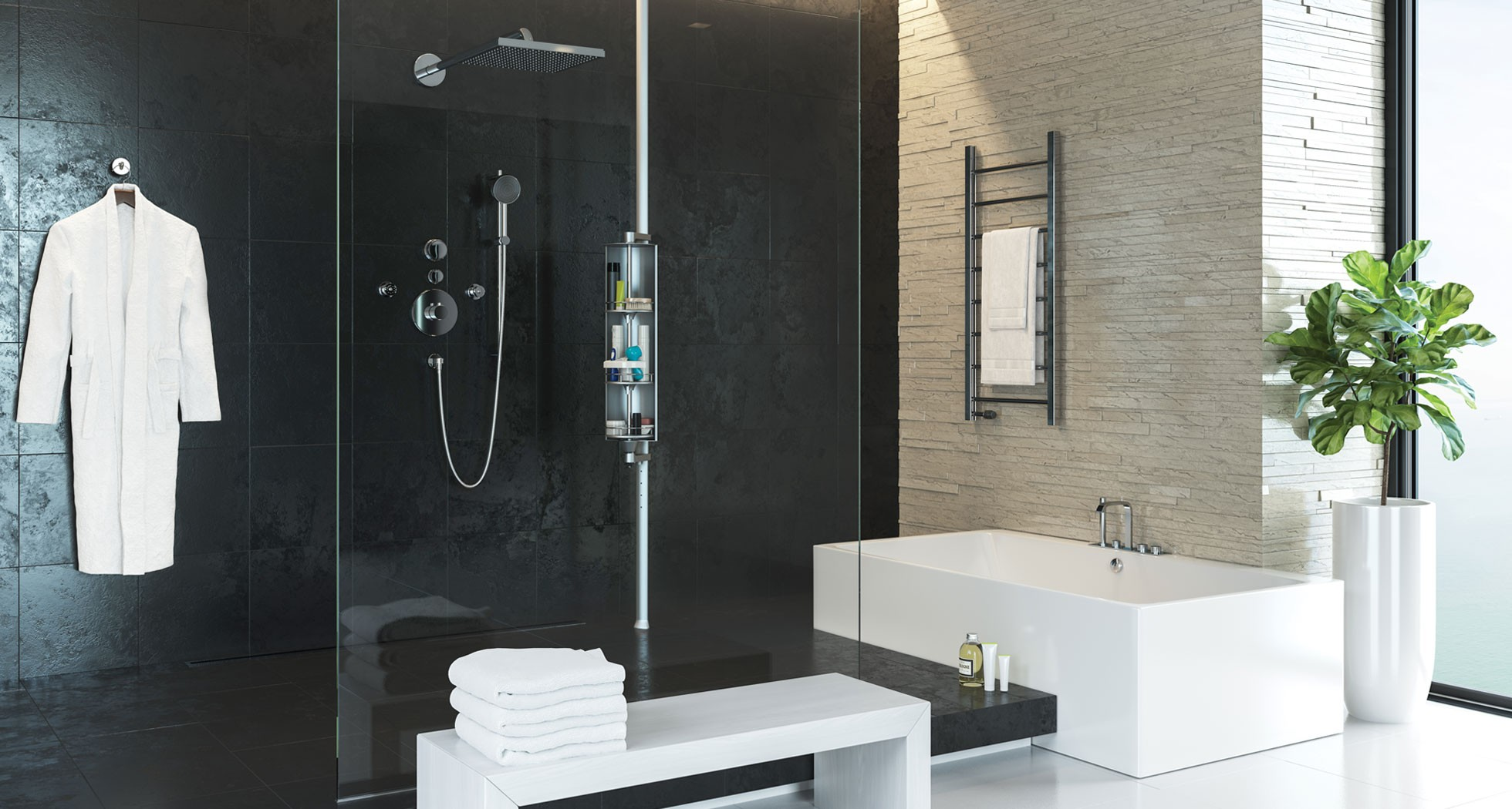 Bath & Shower: Have A Best Shower Caddy With Simplehuman Shower ...
